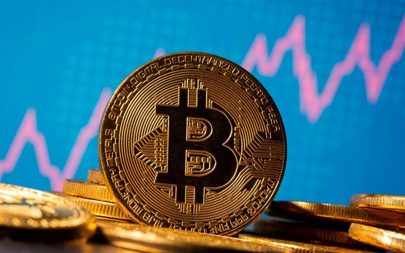 Bitcoin touches record high