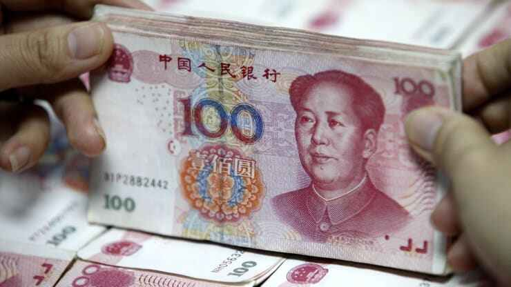 China hands out $1.5 million