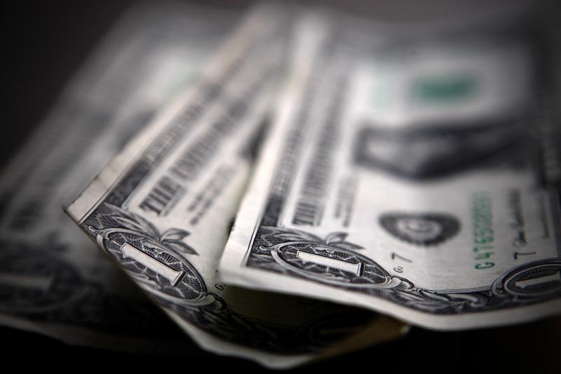 Dollar Down Over Improving Risk