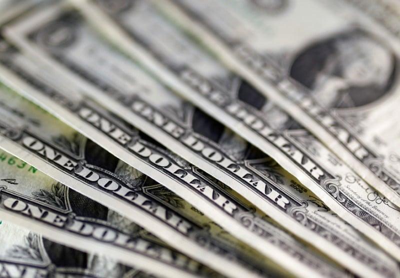 Dollar Down Over U.S. Stimulus Hopes