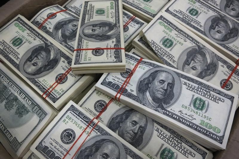 Dollar Edges Higher; Growing Risk