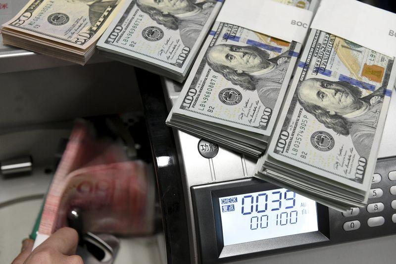 Dollar Edges Off Three Week Lows