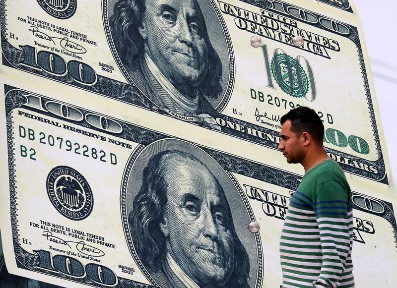 Dollar Makes Small Gains