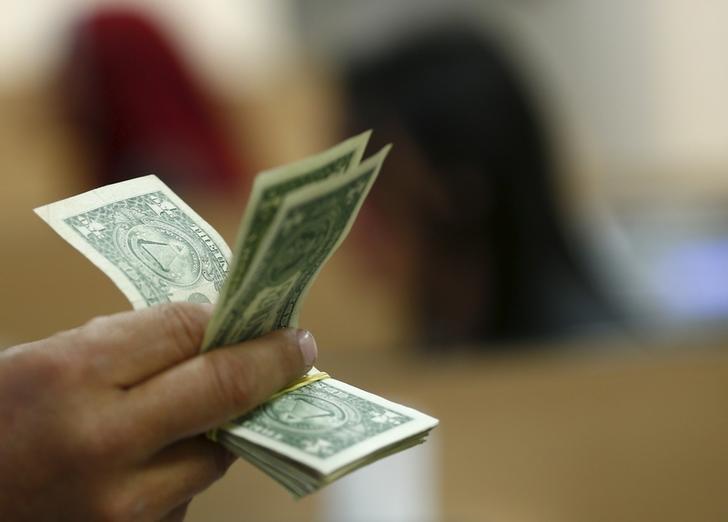 Dollar Up, Investors Continue