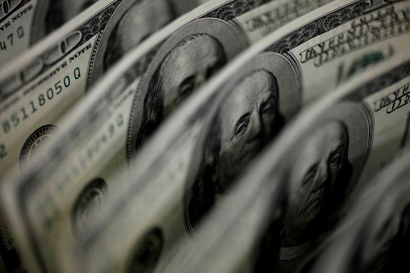 Dollar gains as strong run