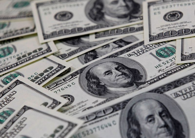 Dollar hits two-week high as Fed