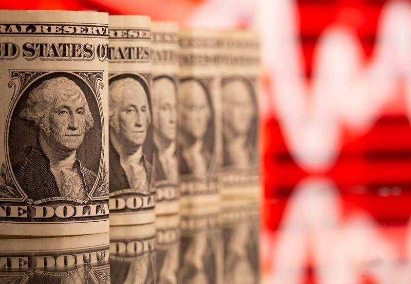 Dollar near 2-week low, investors look