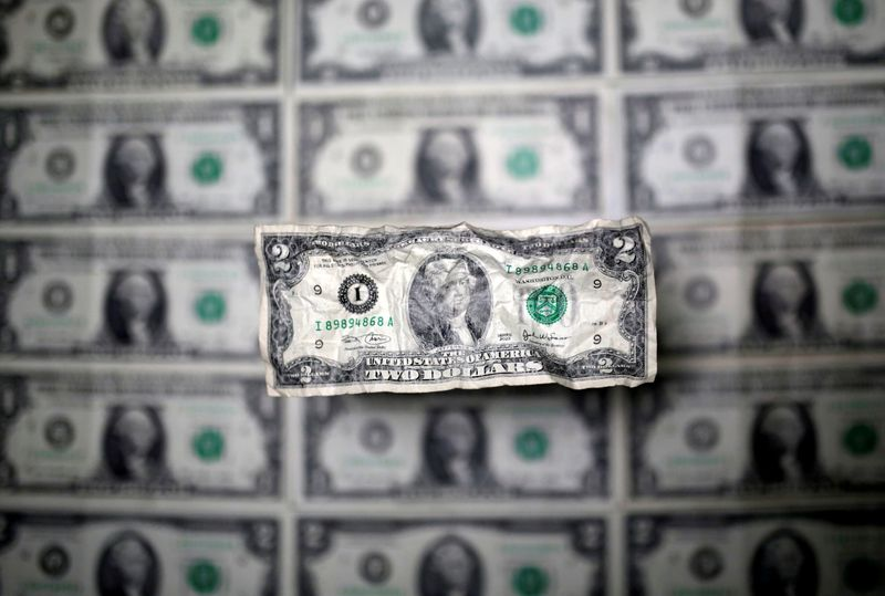 Dollar stands tall vs rivals on firmer yields