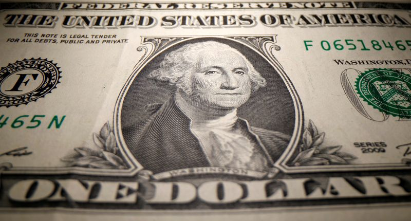 Dollar wobbles after Fed pushes