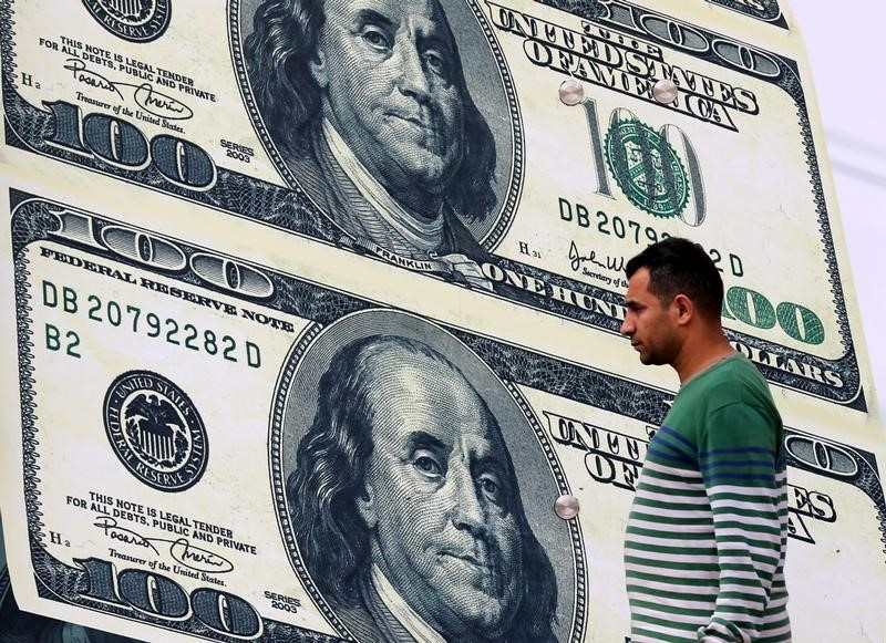 Forex - Dollar Weakens as Risk