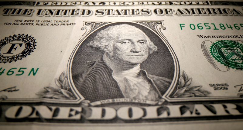 U.S. dollar on track for second week