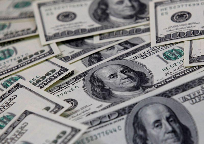 U.S. dollar rises vs most currencies
