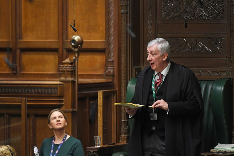 UK House of Commons Speaker